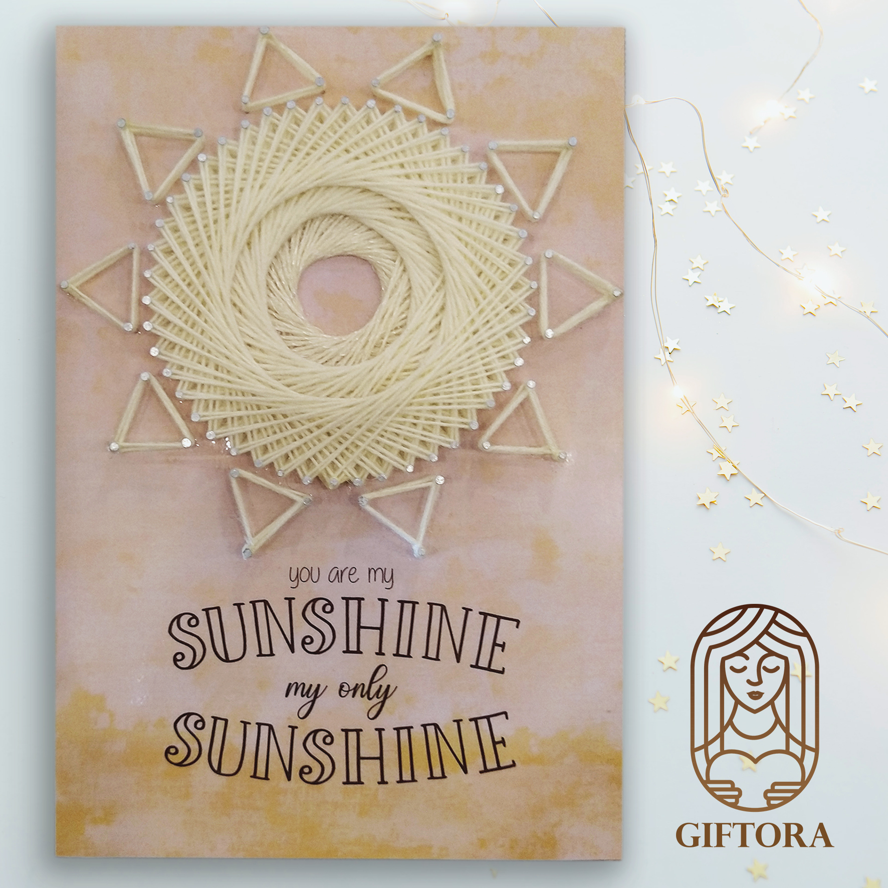 """""""You Are My Sunshine"""" Wall Hanging Panel"""